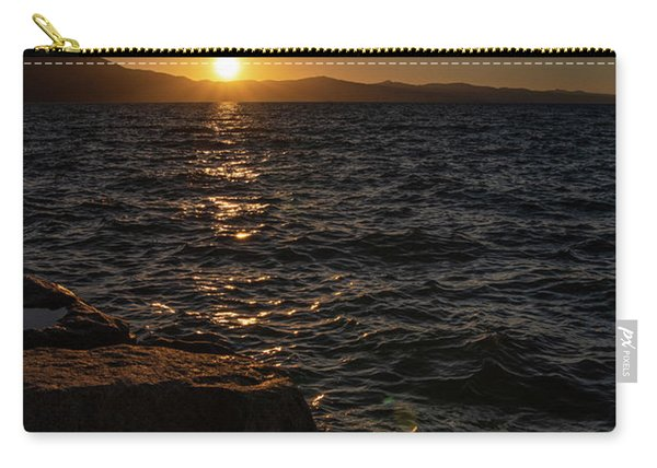 South Shore Sunset Carry-all Pouch