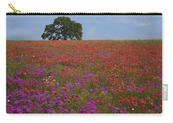 South Texas Bloom Carry-all Pouch