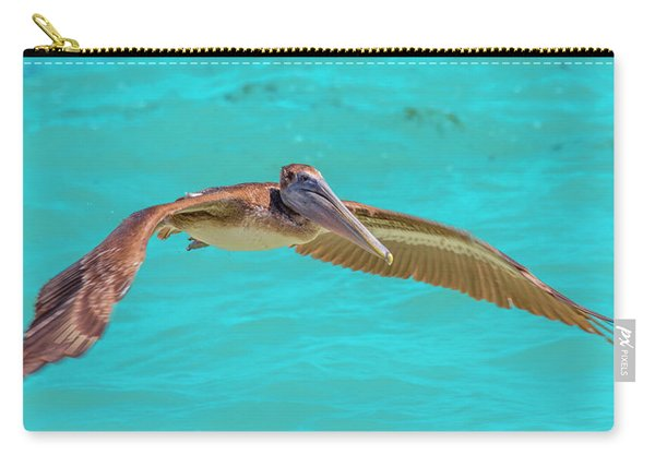 Southern Most Pelican Carry-all Pouch
