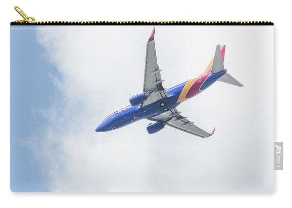Southwest Airlines With A Heart Carry-all Pouch