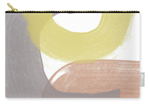 Southwest Modern Brushstrokes 2- Abstract Art By Linda Woods Carry-all Pouch