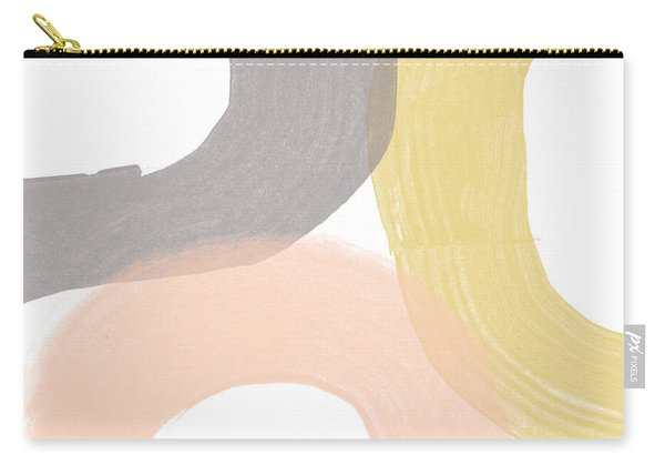 Southwest Modern Brushstrokes - Abstract Art By Linda Woods Carry-all Pouch