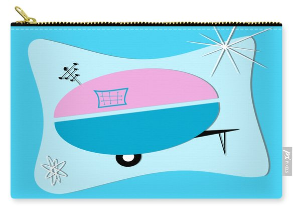 Space Age Camper Carry-all Pouch