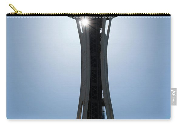 Carry-all Pouch featuring the photograph Space Needle by Michael Hope