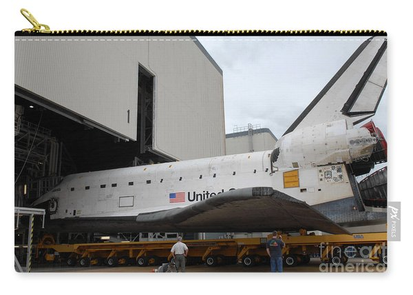 Space Shuttle Atlantis Rolls Carry-all Pouch
