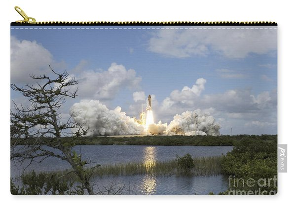 Space Shuttle Discovery Liftoff Carry-all Pouch