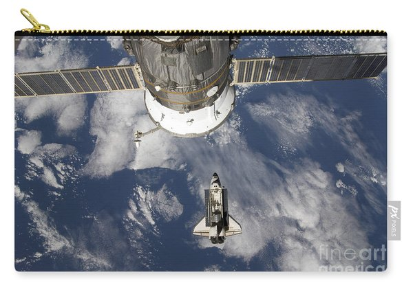 Space Shuttle Endeavour, A Russian Carry-all Pouch