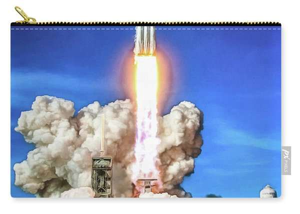 Spacex Falcon Heavy Rocket Launch Carry-all Pouch