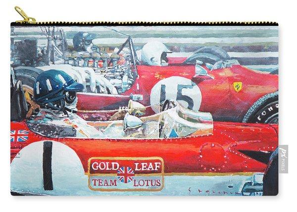 Spain Gp 1969  Lotus 49 Hill  Ferrari 312 Amon  Lotus 49b Rindt  Carry-all Pouch