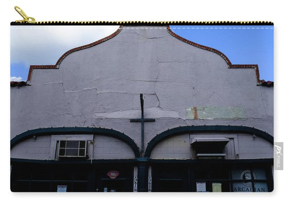 Spanish Architecture Photo In Saint Augustine Florida Carry-all Pouch