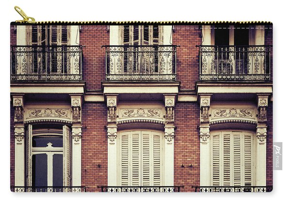 Spanish Balconies Carry-all Pouch