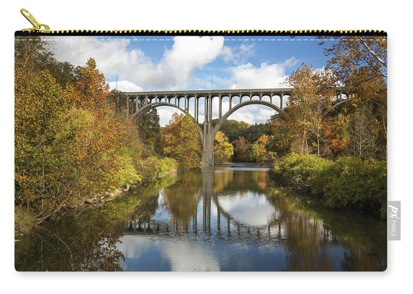 Spanning The Cuyahoga River Carry-all Pouch