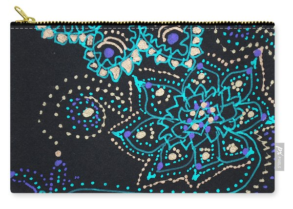 Midnite Sparkle Carry-all Pouch