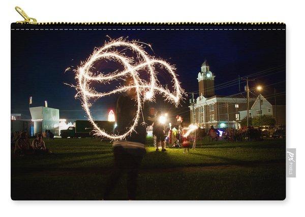 Sparkler Art Carry-all Pouch