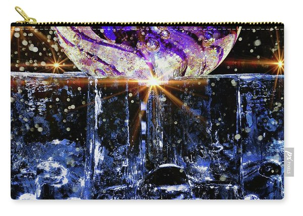Sparkling Glass Carry-all Pouch
