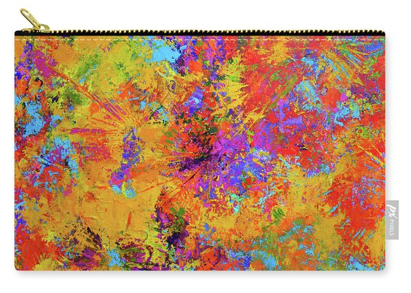 Sparks Of Consciousness Modern Abstract Painting Carry-all Pouch