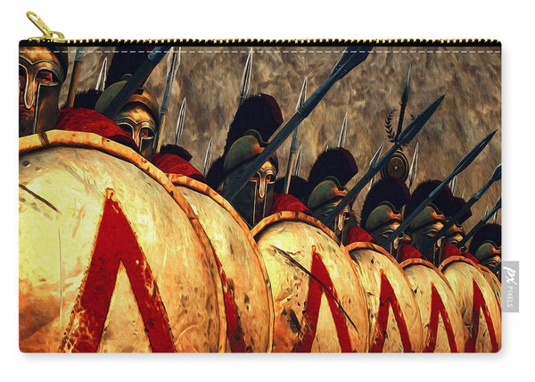 Spartan Army - Wall Of Spears Carry-all Pouch