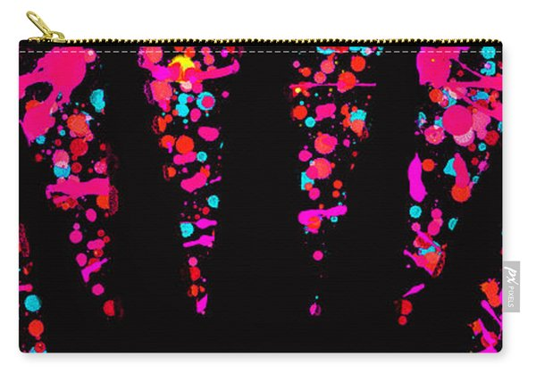Speck Of Time Pink Carry-all Pouch