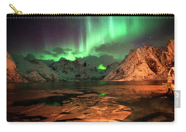 Spectacular Night In Lofoten 1 Carry-all Pouch