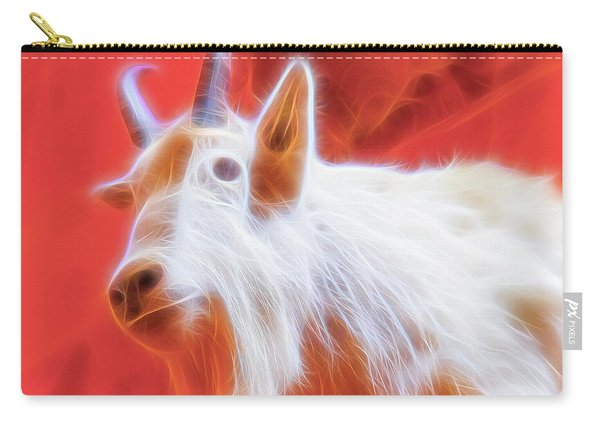 Spectral Mountain Goat Carry-all Pouch