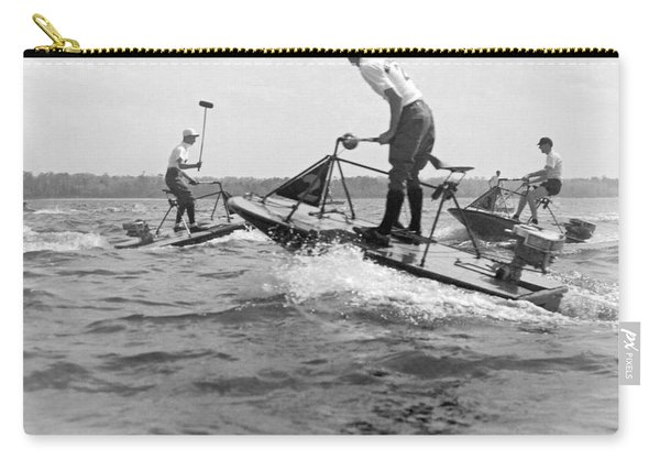 Speedboat Polo Enthusiasts Carry-all Pouch