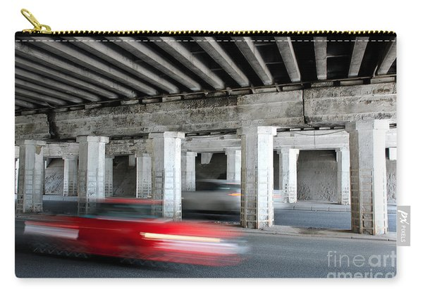 Speeding Car Carry-all Pouch