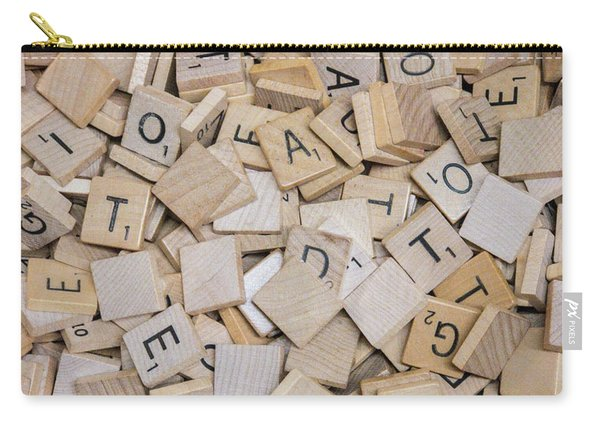 Spell It Out Carry-all Pouch