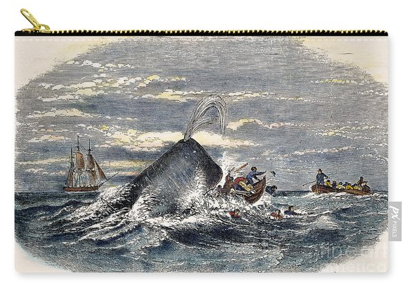 Sperm Whale Attack, 1851 Carry-all Pouch