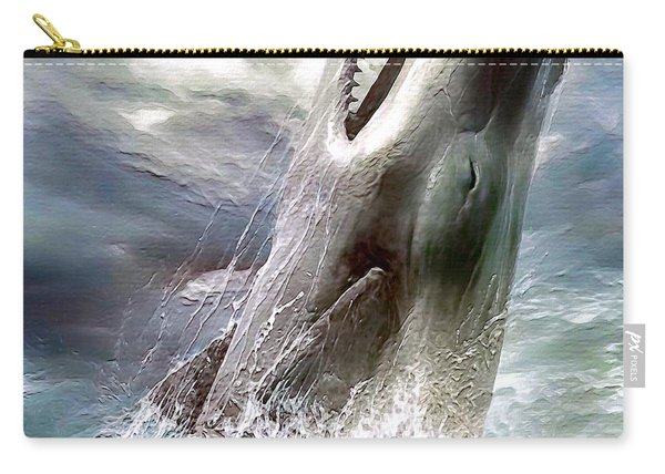 Sperm Whale Carry-all Pouch