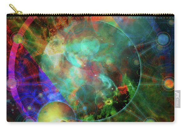 Sphere Of The Unknown Carry-all Pouch