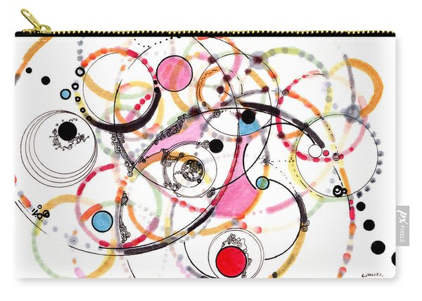 Spheres Of Influence Carry-all Pouch