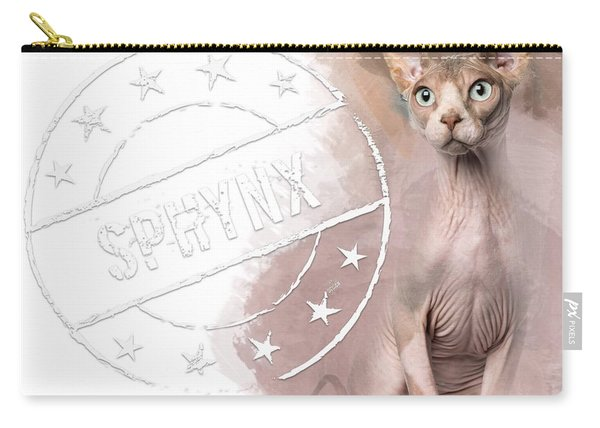 Sphynx No 03 Carry-all Pouch
