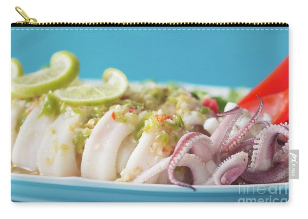 Spicy Food, Steamed Squid Carry-all Pouch