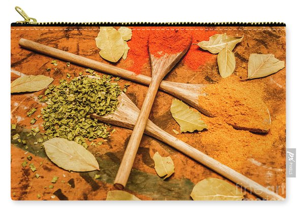 Spicy Kitchen Ingredients  Carry-all Pouch
