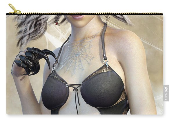 Spider Queen Carry-all Pouch