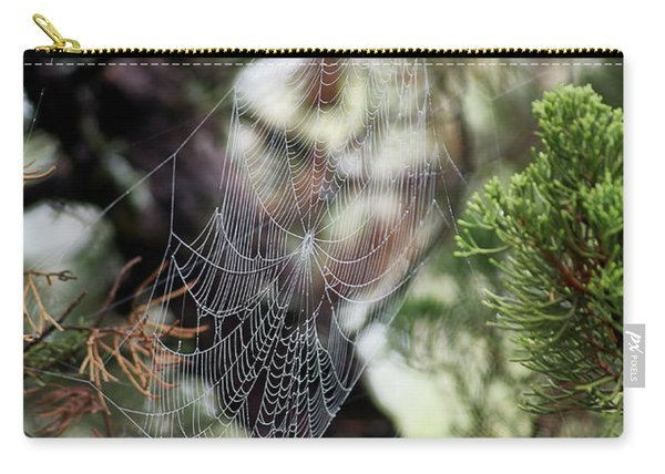 Spider Web In Tree Carry-all Pouch
