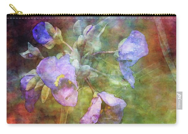 Spiderwort 1398 Idp_2 Carry-all Pouch
