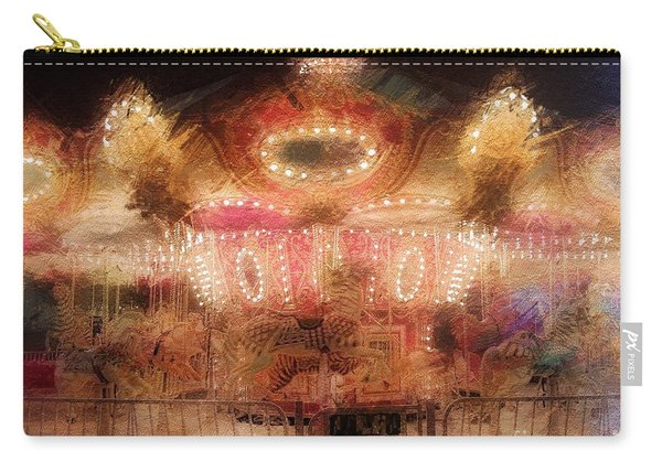 Spinning At The Speed Of Light Carry-all Pouch