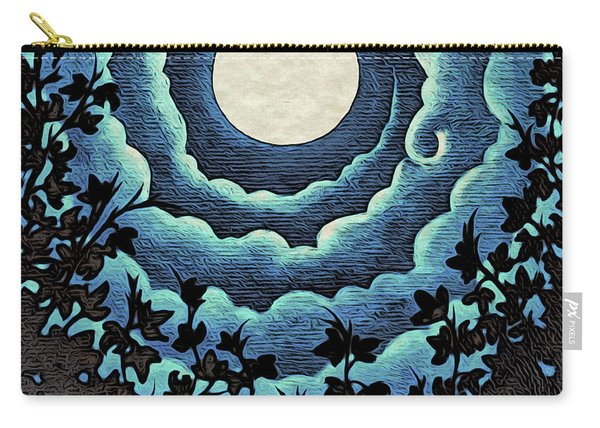 Spiral Clouds Carry-all Pouch