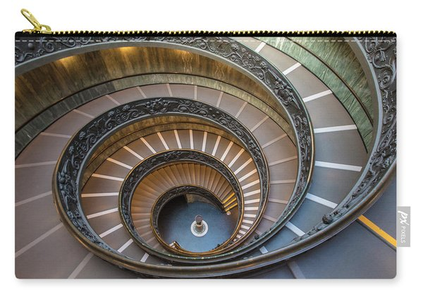 Spiral Staircase In St. Peter's Basilica Carry-all Pouch
