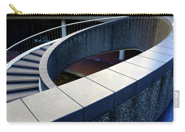 Spiral Stiars In Downtown Tacoma Washington Carry-all Pouch