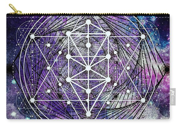 Carry-all Pouch featuring the digital art Spirals by Bee-Bee Deigner