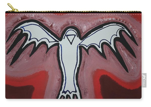 Spirit Crow Original Painting Carry-all Pouch