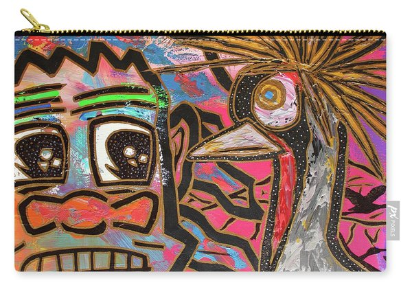 Spirit Guide Cranes Carry-all Pouch