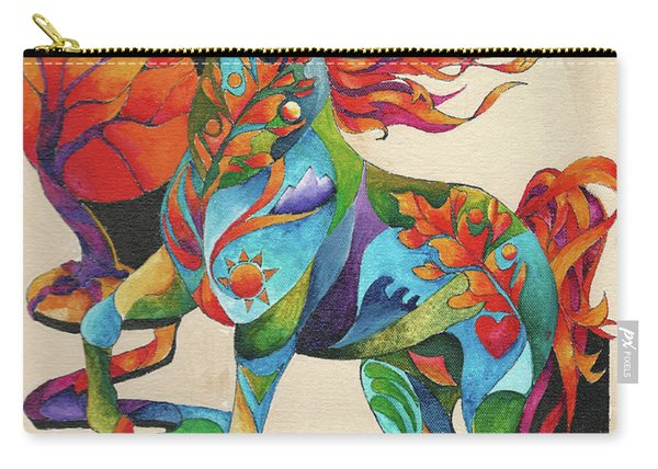 Spirit Horse Totem Carry-all Pouch