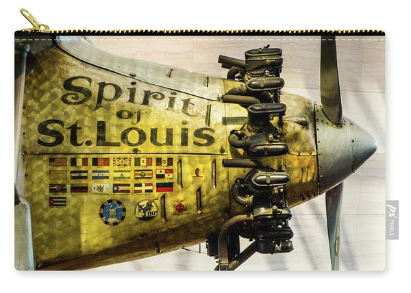 Spirit Of St Louis Carry-all Pouch