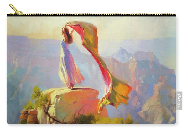 Spirit Of The Canyon Carry-all Pouch