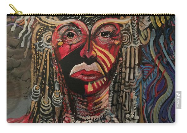Spirit Portrait Carry-all Pouch