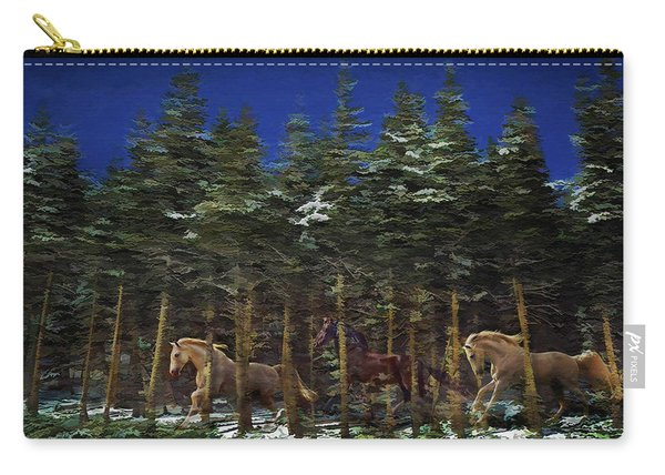 Spirits Of The Forest Carry-all Pouch