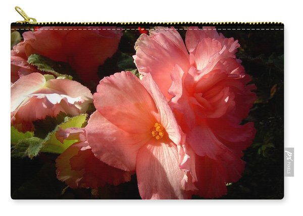 Splash Of Begonia Carry-all Pouch